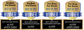 NY Law Journal Readers Ranking Award 2017